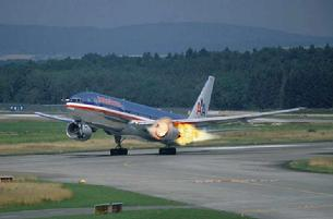 Boeing 767 engine blows up on takeoff