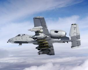 A-10 Thunderbolt II with a full load
