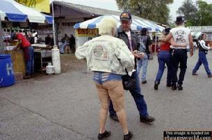 Cals wife bought some new hot pants