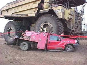 Cal used to drive big trucks