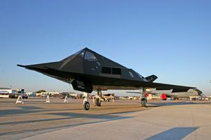 F-117 Nighthawk left front view