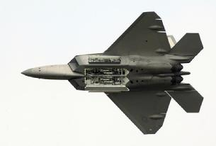 F-22 Raptor all doors open