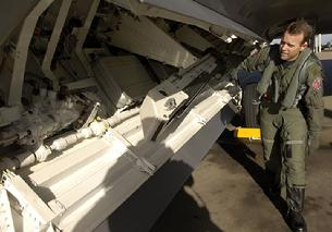 F-22 Raptor side weapons bay