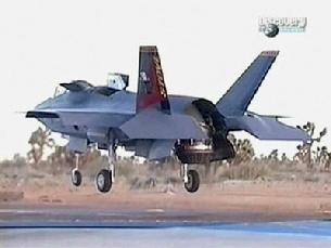 F-35 Lighting II vertical landing