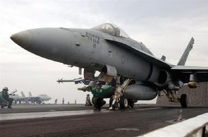 FA-18C Hornet ready for launch