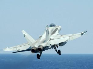 FA-18 Hornet shortly after launch