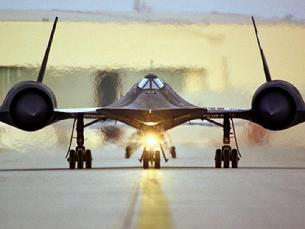 SR-71 Blackbird ready to roll