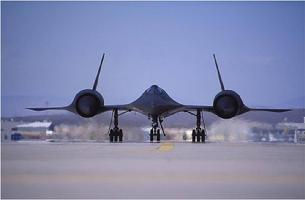 SR-71 Blackbird could fly over 3 times faster than the speed of sound