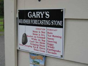 Cals weather forecasting stone